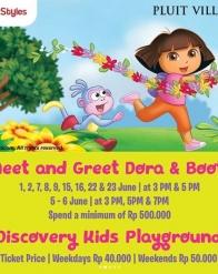 Meet & Greet Dora & Boots di Pluit Village