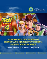 Experience The World of Disney and Pixar's Toy Story 4
