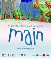 """Festival Seni Rupa Anak Indonesia """"MAIN"""""""