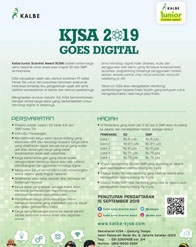 Kalbe Junior Scientist Award (KJSA) 2019