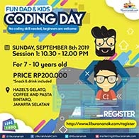 Fun Dad & Kids Coding Day