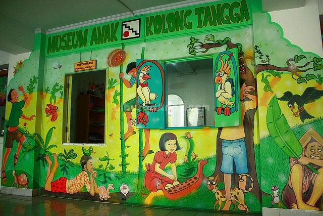 Museum Mainan Anak Kolong Tangga