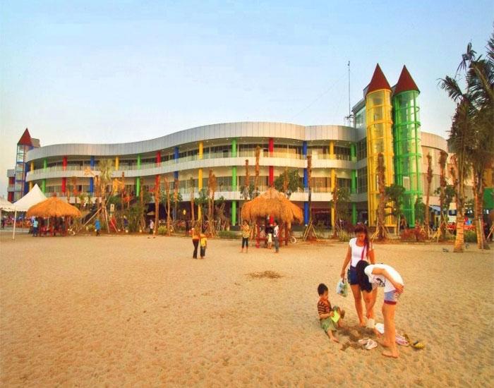 Pantai Ramah Anak Di Ancol Kids Holiday Spots Liburan