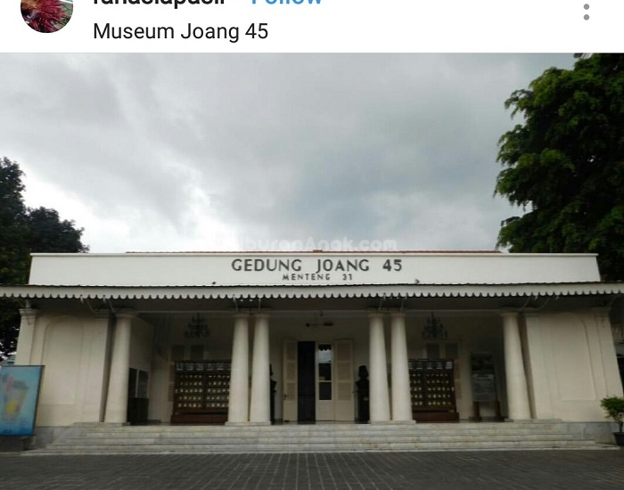 Liburan Anak Museum Joang 45