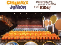 Cinemaxx Junior: Indonesia's First Cinema for Kids!