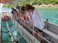 Glass-bottomed boats tour - tanjung benoa