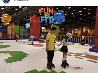 Having Fun & Feeling Fit di Fun Fit Holic Trampoline Park & Skating Rink