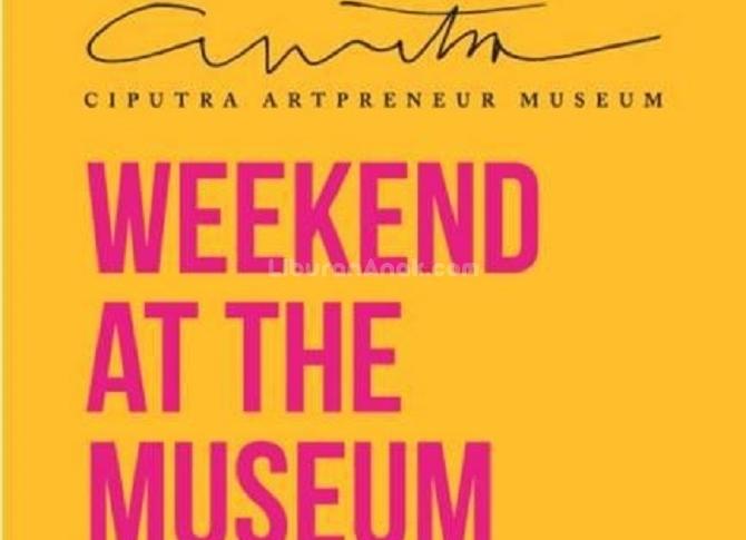 Weekend At The Museum: Art Workshop at Ciputra Artpreneur