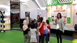 "Liputan Wawancara di Event ""Kids Olympic Camp"""