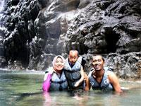 Di Amerika ada Grand Canyon. Di Indonesia kita punya Green Canyon !