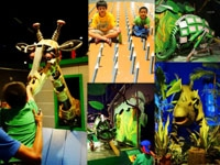 Review Jungleland Sentul (2): Robot Zoo, Dunia Dino, Science Arena & Fun Games
