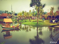 Blown Away at Lembang Floating Market