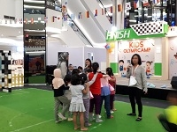 "Liputan Wawancara di Event ""Kids Olympic Camp"""
