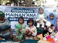Mainan Anak Untuk Korban Lombok