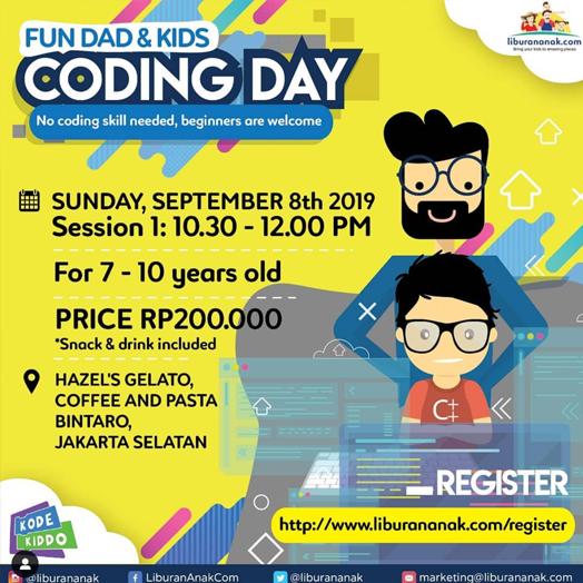 Fun Dad & Kid Coding Day
