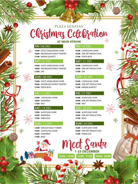 Plaza Senayan Christmas Celebration