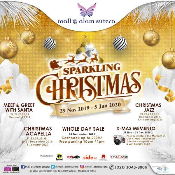 Sparkling Christmas Event Di Mall @ Alam Sutera