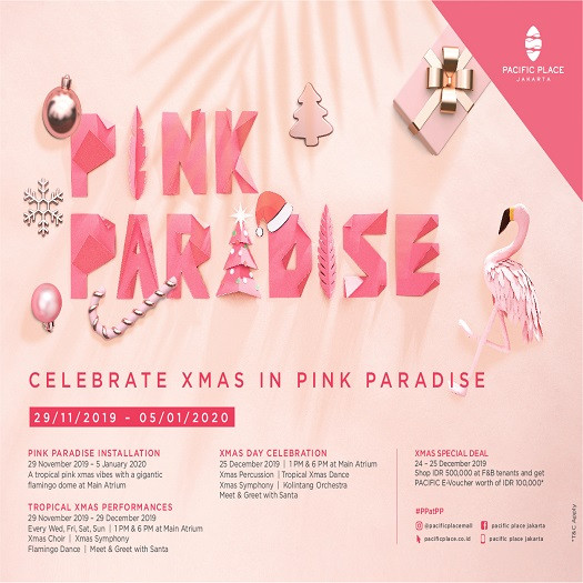 PINK PARADISE Pacific Place