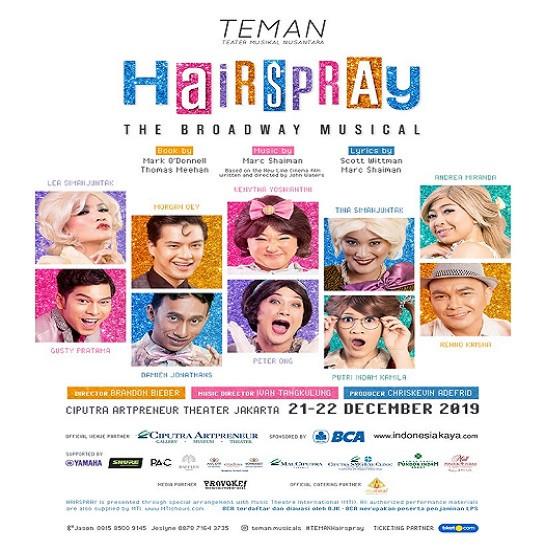 HAIRSPRAY The Broadway Musical!