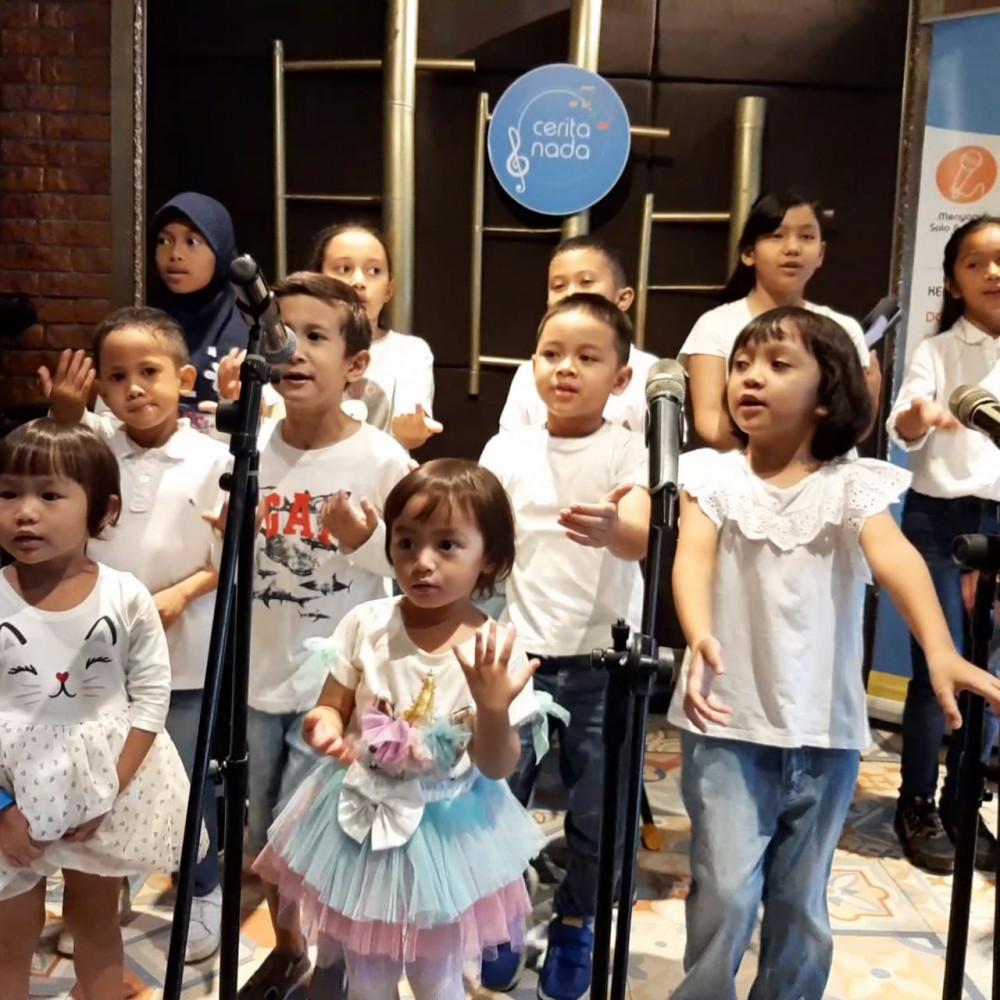 Cerita Nada - Kelas Kelompok Bernyanyi