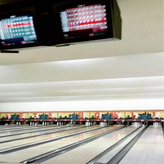 Bowling Alley Pasar Festival