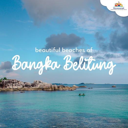 Beautiful beaches of Bangka Belitung