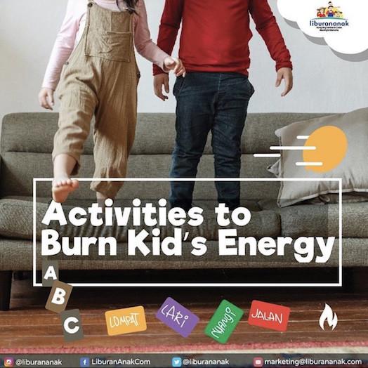 Activities to Burn Kid's Energy