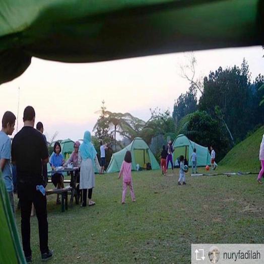 Glamping asik di Tanakita Camping Ground