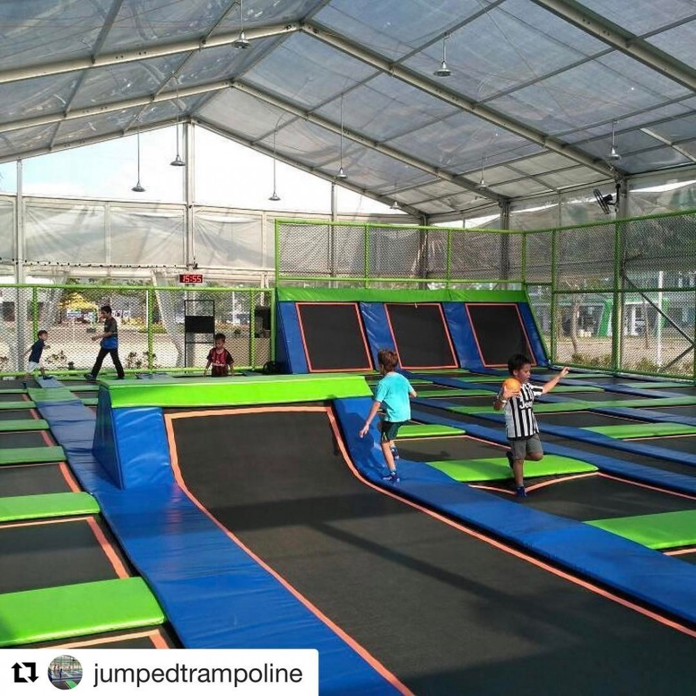 Jumped Trampoline